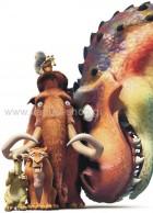Scrat - Manny - Sid - Diego με Δεινόσαυρο
