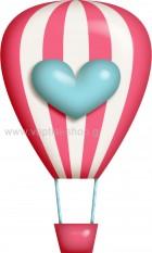 Αερόστατο με Καρδούλα