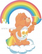 Αρκουδάκι της Αγάπης με Ουράνιο Τόξο