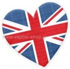 Καρδιά με Βρετανική Σημαία