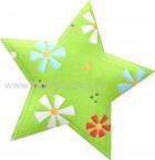 Αστέρι Πράσινο με Λουλούδια
