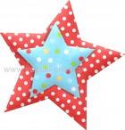 Αστέρι Διπλό με Πουά