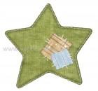 Αστέρι Πράσινο με Μπάλωμα