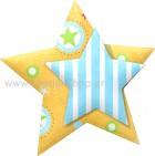 Αστέρι Διπλό με Ριγέ