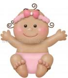 Μωράκι Κοριτσάκι Χαρωπό Μελαχρινό