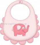 Ποδίτσα Ροζ με Ελεφαντάκι
