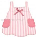 Φορεματάκι Ροζ Ριγέ