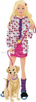 Barbie με το Σκυλάκι της