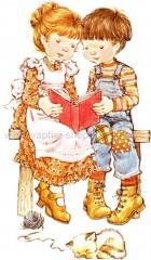 Sarah Kay με το Φίλο της Διαβάζει