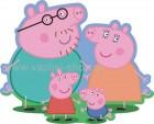Peppa με την Οικογένειά της