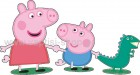 Peppa and George