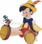 Πινόκιο Καθιστός με τον Jiminy Cricket