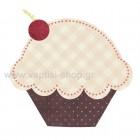 Cupcake Καρώ-Πουά