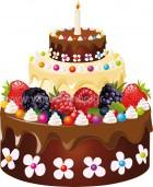 τούρτα γενεθλίων 7
