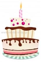 τούρτα γενεθλίων 8