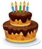 τούρτα γενεθλίων 13