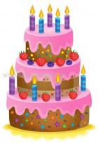 τούρτα γενεθλίων 19