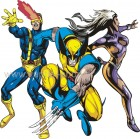 Wolverine - Cyclops - Storm