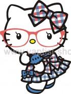Hello Kitty με Γυαλάκια
