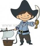 Πειρατής με Καραβάκι