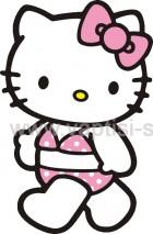 Hello Kitty με Μπικίνι
