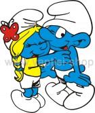 Στρουμφάκια Αγκαλιάζονται