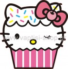 Hello Kitty Cupcake