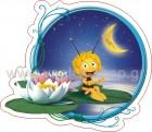 Μάγια η Μέλισσα πάνω σε Νούφαρα