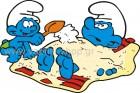 Στρουμφάκια στην Άμμο