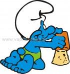 Στρουμφάκι Παίζει στην Άμμο